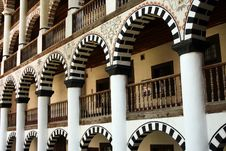 Free Terraces In Rila Monastery Royalty Free Stock Image - 6550356
