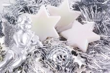 Free Christmas Ornaments. Royalty Free Stock Photos - 6550788
