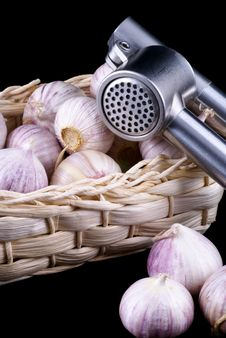 Wonderful Garlic. Royalty Free Stock Photography