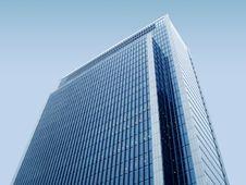 Blue Modern Building Stock Photos