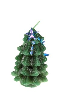 Free Christmas Tree Candle Stock Photo - 6551370