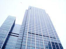 Blue Modern Building Stock Image