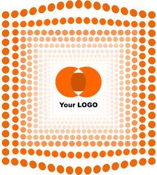 Free Vector Logo And Background Royalty Free Stock Images - 6552509