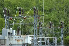 Electrical Station Stock Images