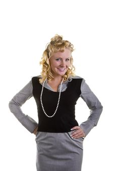 Free Curly Blonde Royalty Free Stock Photography - 6554727