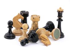 Free Chess Composition Royalty Free Stock Photos - 6554738