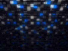 Free Fantasy Futuristic Computer Generated Construction Stock Image - 6554811