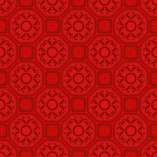 Free Seamless Ornament Tile Pattern Stock Photo - 6555370