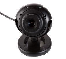 Free Black Webcam Royalty Free Stock Image - 6556406