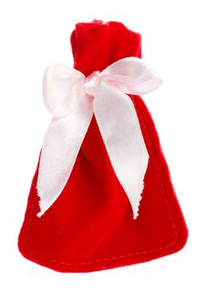 Free Red Gift Bag Stock Photos - 6556933