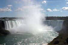 Free Big Spash Niagara Falls Royalty Free Stock Photography - 6556997