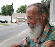 Free Senior With A Beard Stock Photo - 6557800