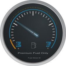 Free Fuel Gauge Vector Stock Photography - 6557932