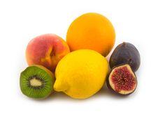 Free Yellow Lemon And Fig Stock Photography - 6558222