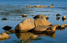 Free Stones On Sea 2 Royalty Free Stock Photography - 6558327