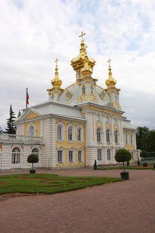 Free Peterhof Palace Royalty Free Stock Photos - 6558348