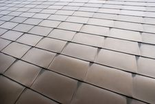 Steel Panels Stock Photo