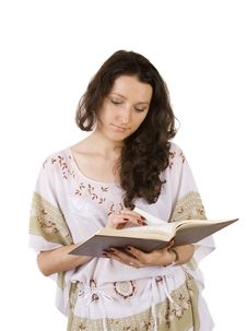 Free Young Women Reading Book Stock Images - 6559804