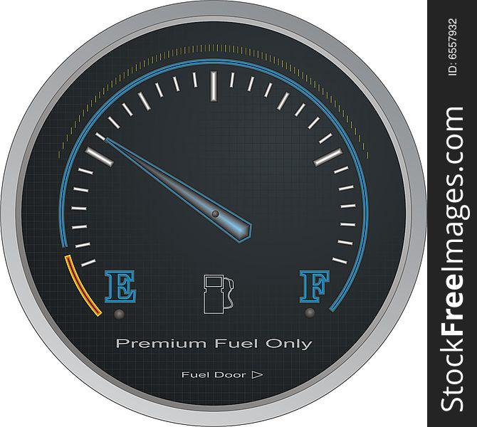 Fuel Gauge Vector - Free Stock Images & Photos - 6557932