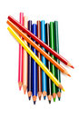Free Color Pencils Royalty Free Stock Photo - 6560455