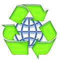 Free Recycling Sign Royalty Free Stock Photo - 6564115