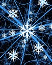 Free Snowflake Card Stock Image - 6565611