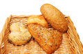Free Bread Rolls In Basket Royalty Free Stock Photos - 6566338