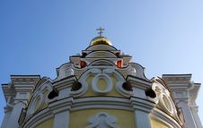 Free The Temple In Honor Ofthe Icon Ofthe Mother Of God Royalty Free Stock Photography - 6560917