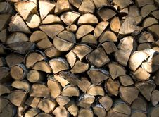 Free Glowing Wood Piles Royalty Free Stock Photography - 6561087
