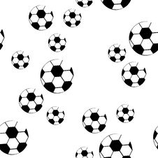 Free Design Football Seamless Pattern Royalty Free Stock Images - 6561239