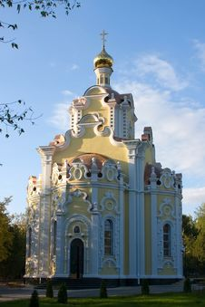 Free The Temple In Honor Ofthe Icon Ofthe Mother Of God Stock Photos - 6561263
