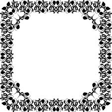 Free Floral Design Frame Royalty Free Stock Image - 6561666