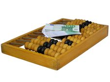Free Abacus And Euro Stock Photos - 6561803