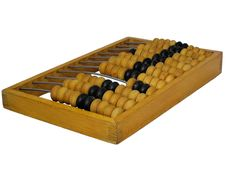 Free Old Abacus On White Royalty Free Stock Photography - 6561817