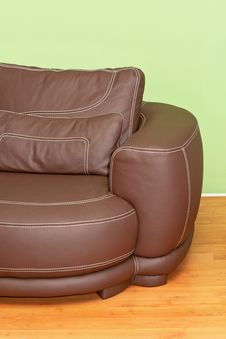 Leather Sofa Royalty Free Stock Photos