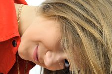 Free Young Smiling Girl Royalty Free Stock Images - 6562099