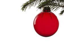 Christmas Tree Ball Royalty Free Stock Photos