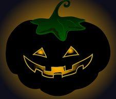 Free Pumpkin In The Dark Stock Images - 6562784