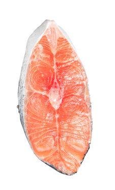 Free Fresh Salmon Steak Stock Images - 6562894