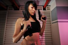 Free Gangster Girl - 7 Royalty Free Stock Photography - 6563667