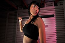 Free Gangster Girl - 3 Stock Photography - 6563722