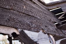 Free Burned Down House Royalty Free Stock Photography - 6563897
