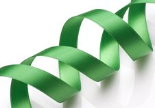 Free Green Ribbon Stock Images - 6564014