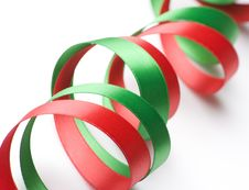 Free Red And Green Ribbon Stock Images - 6564214