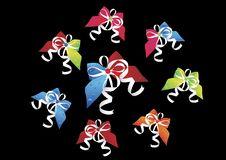Free Ribbons  - On Black Stock Photo - 6564700