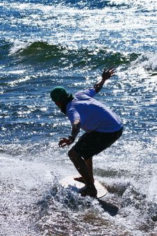 Skimboard1 Royalty Free Stock Photo