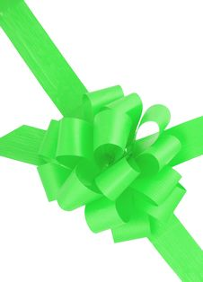 Free Green Ribbon Stock Photo - 6565020