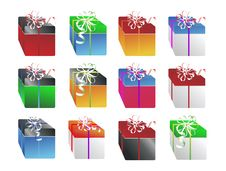 Free Christmas Gifts 4 Royalty Free Stock Photography - 6565087