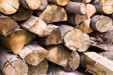 Free Stack Of Wood Royalty Free Stock Photos - 6565528