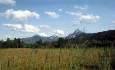 Mountain Landscape - Alps Stock Photos